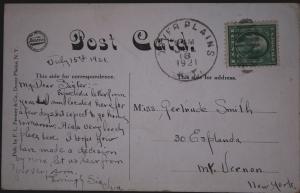 Postcard Rear