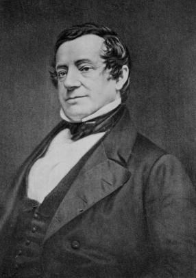 Washington Irving (Image from Wikicommons)