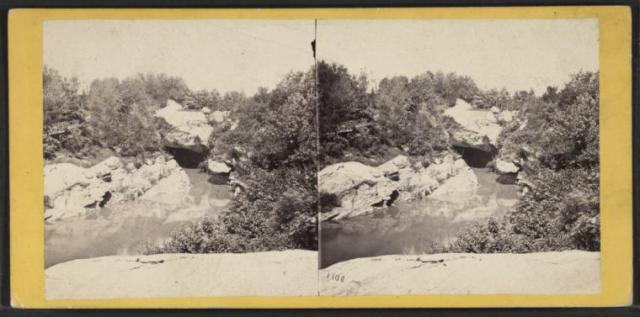 The Cave, from the Ramble (1863. Image courtesy of the New York Public Library)