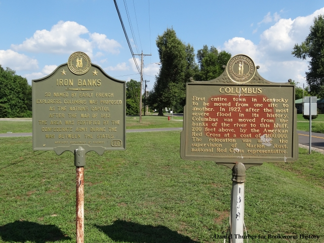 columbus-ky-capital-of-united-states-historical-markers-iron-banks-columbus-ky-bookworm-history-daniel-thurber