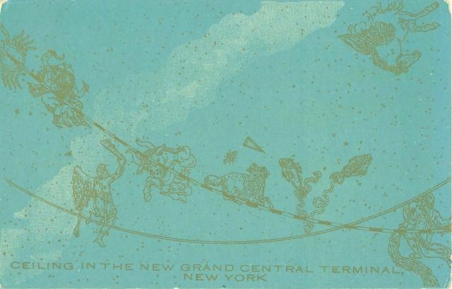 Grand Central Postcard