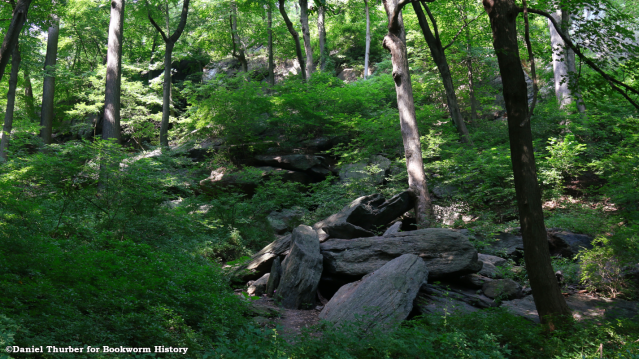 Inwood Hill Park-Manhattan-New York City-Bookworm History-City Full of History-Daniel Thurber