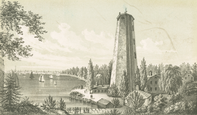 Youle Shot Tower-George Youle-East River-Manhattan-New York City-Bookworm History-City Full of History-Daniel Thurber